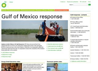 BP Response Site