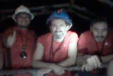 Crisis con final feliz del año: los mineros chilenos